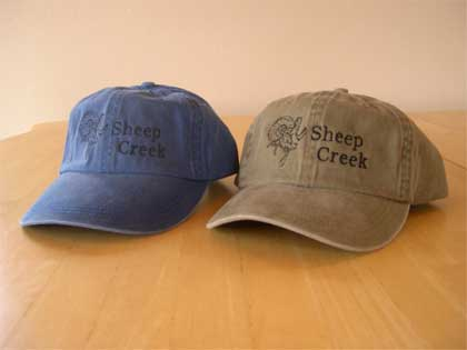 Sheep Creek Logo Cap